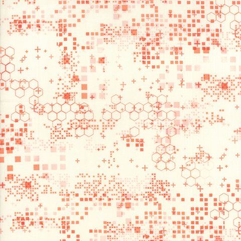 Moda Fabrics - Modern Colorbox / Zen Chic / Boxes / Orange / 1642-19