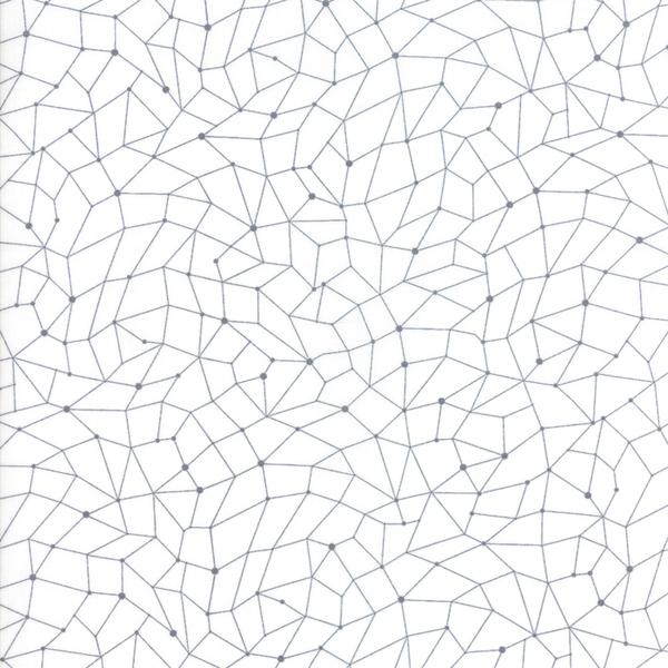 Moda Fabrics - Modern Colorbox / Zen Chic /  Gridwork / Dark Grey / 1647-15