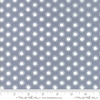 Moda Fabrics - Harmony / Dots / White on Grey / 5695-14