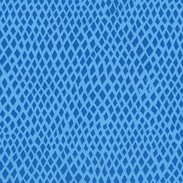 Robert Kaufman - Valori Wells / Marmalade Dreams / Diamonds / Blue / AVW-17901-82