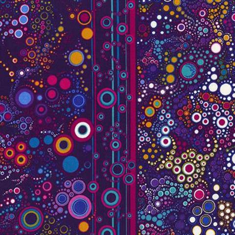 Robert Kaufman - Effervescence / 11209-195 BRIGHT PURPLE