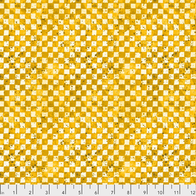 Free Spirit - ColorLabyrinth / Checkerboard - Yellow / PWKP002.YELLOW