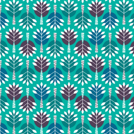 Camelot - Birds of Paradise / Tree / 28170104-01 / Teal