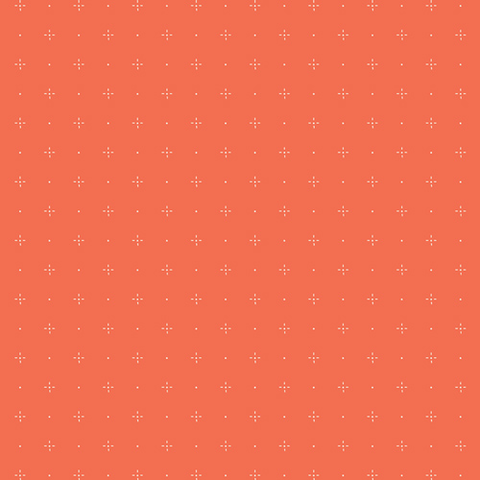 Art Gallery - Dew & Moss / Starry Orange / DWM-45603