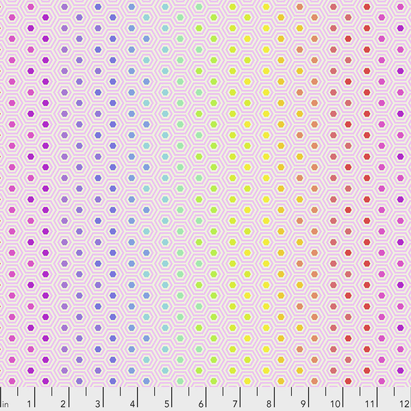 Tula Pink - True Colors / Hexy Rainbow/ PWTP151.SHELL