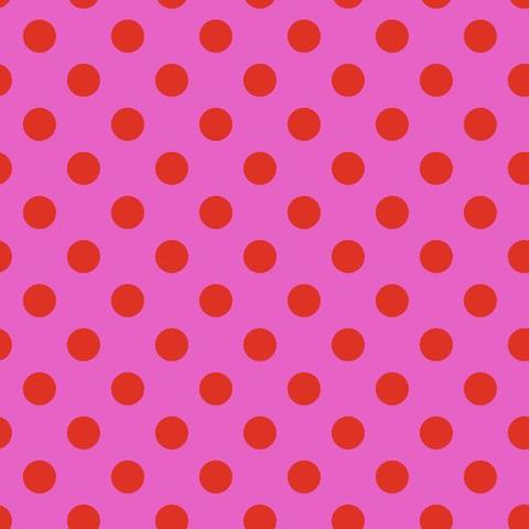 Tula Pink - Pom Pom / PWTP118 Peony