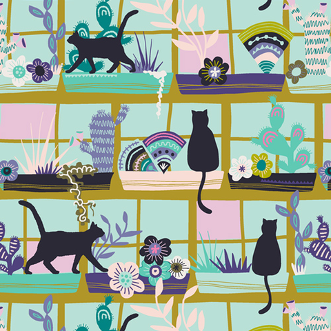Art Gallery - Oh Meow - Purrrlandia / OHM-33444