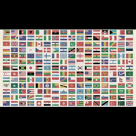 QT - Wanderlust - Flags of the World
