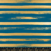 Ruby Star / Rashida Coleman Hale /  Zip Metallic Stripes / Blue Raspberry / RS1005 34M