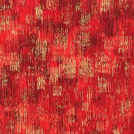 RK - Fusion Brushwork / Metallic / 18059-3 RED