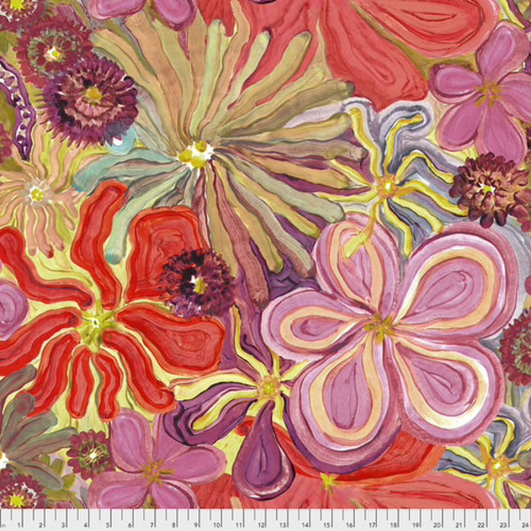 Free Spirit - Denise Burkitt / Fancey Free / Room For Me Too / Flowers / PWDB009.MULTI