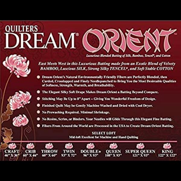 QD Batting / Orient / Double (93 x 96)