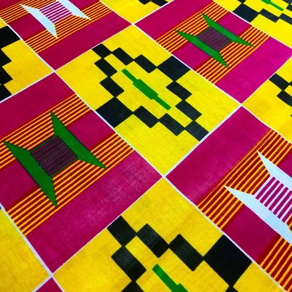 Traditional African / Ankara Wax Fabrics (AF-15)