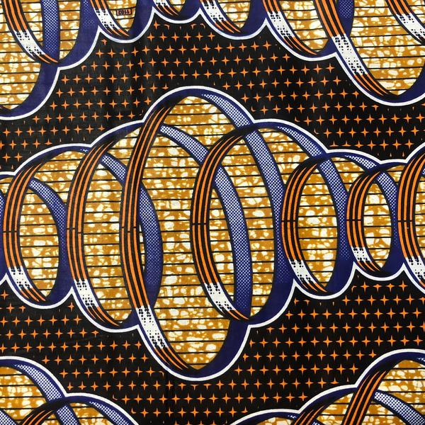 Traditional African / Ankara Wax Fabrics (AF-14)