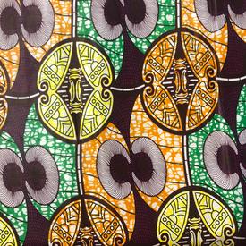 Traditional African / Ankara Wax Fabrics (AF-12)