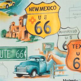 Alexander Henry - Route 66 / Blue  (AH-9)