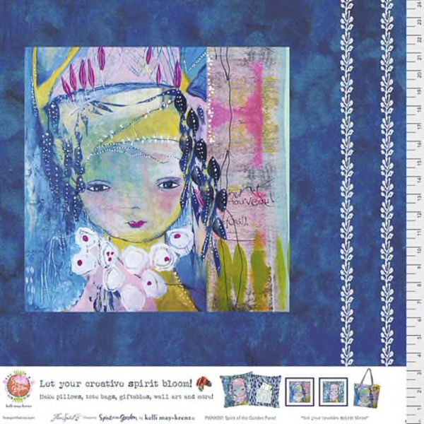 Free Spirit - Kelli May-Krenz / Spirit of the Garden / PANEL / PWKK001.GARDEN