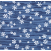 Moda - Forest Frost Glitter Favorites / Blue Snowflakes / 33412-17