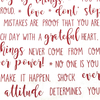 Moda - Flourish Is Calming / Gratitude Words - 10910-11