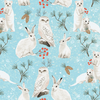 Clothworks - Winter Wonderland / Animal Toss / Y2728 103