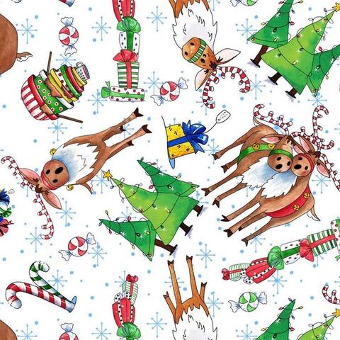 QT - Reindeer Antics / Reindeer Candy Cane Toss / 27217