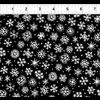 ITB - Four Seasons / Winter Collection / Snowflake / Black
