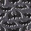 MM - Halloween / Bats / Black / CX7995