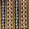 Japanese Fabric - Metallic / Bamboo Crane / Brown / (A) JC02