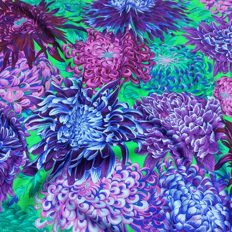 Kaffe - Japanese Chrysanthemum – PWPJ041 - PURPLE