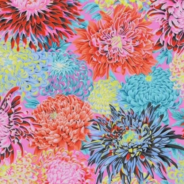 Kaffe - Japanese Chrysanthemum – PWPJ041 - CONTRAST