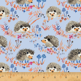 Windham - Betsy Olmsted / Fox Wood - Hedgehog / Blue / 43499A-4