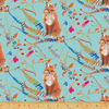 Windham - Betsy Olmsted / Fox Wood - Caprice Curious Fox / Aqua / 51919-3