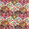 Japanese Fabric - Fans on Fans / JF03 (A)