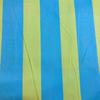 Japanese Linen / Kokka / Thick Stripes / Blue and Green / JLF-K-12