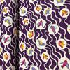Japanese Canvas / Kokka / Little Birdies / Purple / JLF-K-14