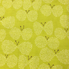 Japanese / Doby Cloth / Butterfly / Lime Green / JLF-19