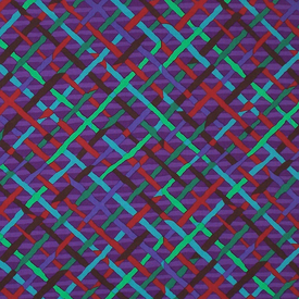 Kaffe Fassett - Plaid / PWBM037 PURPLE