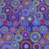 Kaffe Fassett - Mosaic Circles / PWGP176 BLUE
