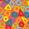 Kaffe Fassett - Puzzle / PWBM057 ORANGE