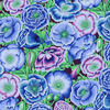 Kaffe Fassett - Poppy Garden / PWPJ095 BLUE