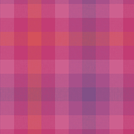 Allison Glass - Kaleidoscope - Shot Cotton - PLAID / MAGENTA
