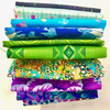Mystery Bundle - 10 Fat Quarters / DISCONTINUED FABRICS
