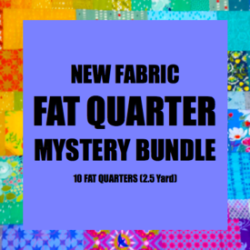 Mystery Bundle - 10 Fat Quarters / NEW FABRICS