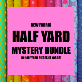 Mystery Bundle - 10 Half Yard Pieces / NEW FABRICS