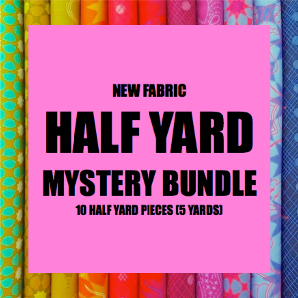 Mystery Bundle - 10 Half Yard Pieces / NEW FABRICS