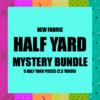 Mystery Bundle - 5 Half Yard Pieces / NEW FABRICS
