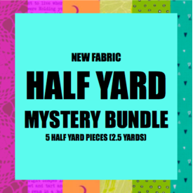 Mystery Bundle - 5 Half Yard Pieces / NEW FABRICS