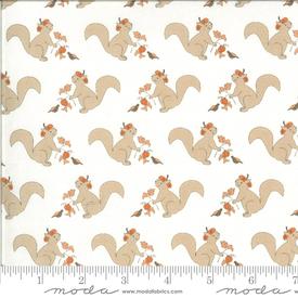 Moda - Squirrelly Girl / Squirrels / Ivory / 2970-14