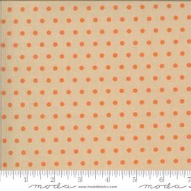 Moda - Squirrelly Girl / Pie Dots / Latte / 2976-15