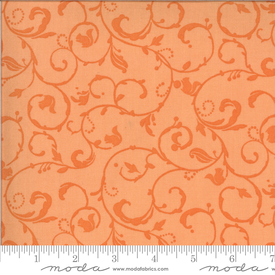 Moda - Squirrelly Girl / Squirrel Swirl / Apricot / 2977-11